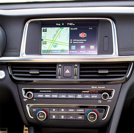 ecran tactile carplay android auto gps waze wifi kia optima. Black Bedroom Furniture Sets. Home Design Ideas