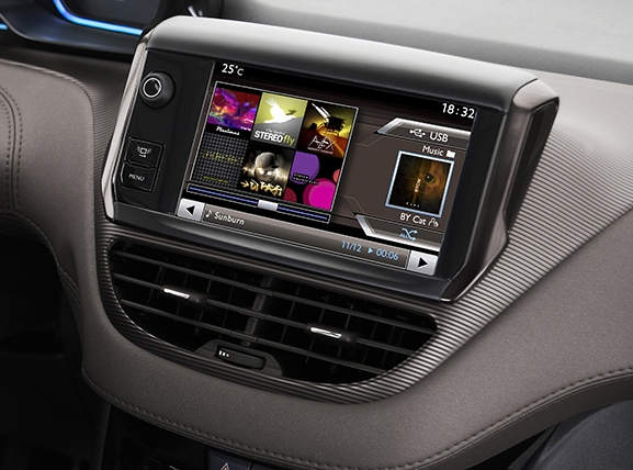 ecran tactile carplay android gps waze wifi peugeot 208 et. Black Bedroom Furniture Sets. Home Design Ideas