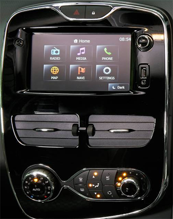 autoradio android renault mains libres usb renault clio 4. Black Bedroom Furniture Sets. Home Design Ideas